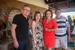 Francisco Eulálio, Jaqueline Tomé, Fátima Claudino e Frederico Costa