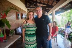 Sandra Claudino e Eulálio Costa