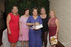 Ângela Carvalho, Liliane Nogueira, Bárbara Freire, Nice Fontenele e Regina Alves