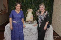 Bárbara Freire e Marilza Pessoa