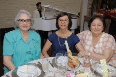 Dina Gualberto, Graziete Bleicher e Auridéia Gualberto