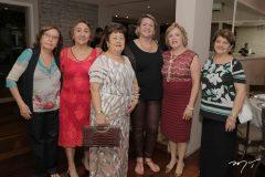 Fabíola Brasileiro, Conceição Pinho, Jonara Luz, Nice Fontenele, Regina Alves e Môza Gurgel