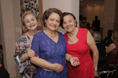 Gladys Barreira, Bárbara Freire e Terezinha Nogueira