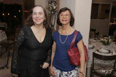 Maria José Castelo e Graziete Bleicher