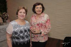 Maria Vanda Machado e Aurora Gualberto