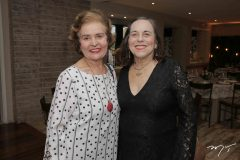 Penha Aguiar e Maria José Castelo