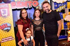 Erica, Thais e Jade Germano e Padua Costa