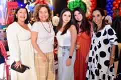 Marina Sa, Ana Novaes, Nina Tavora, Luiza Nogueira e Marcia Tavora