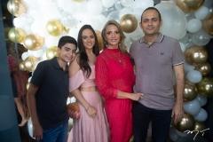 Alexandre, Bianca, Michelle Aragão E Osny Coelho