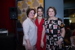 Gleuba Carvalho, Carla Nogueira e Norma Machado