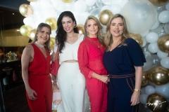 Carla Nogueira, Mariana Bichucher, Michelle Aragão E Suyane Dias Branco