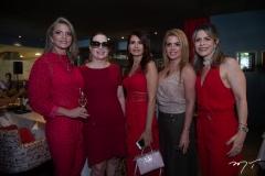 Michelle Aragão. Izabela Fonseca, Lorena Pouchain,  Letícia  Studart E Carla Nogueira