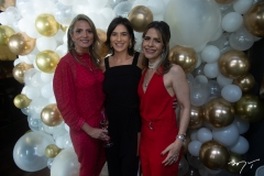 Michelle Aragão, Mariana Rolim E Carla Nogueira