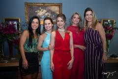 Roberta Morais, Ana Alice Fortes, Carla Nogueira, Michelle Aragão  E Suzana Fiuza