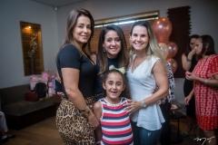 Georgia Bezerra, Claudiana e Letícia Loureiro e Ana Alice