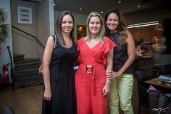 Giovana Bezerra, Adriana Loureiro e Bia Bezerra
