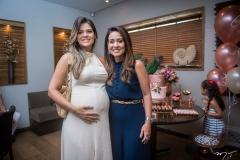 Giovana Franco e Claudiana Loureiro