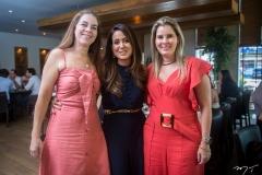 Izabela Brasil, Claudiana Loureiro e Adriana Loureiro