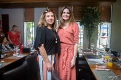 Joria Araripe e Viviane Baima
