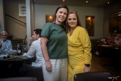 Raphaela Morais e Teca Leitão