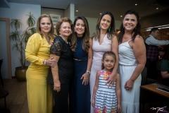Teca Leitão, Rosa Virginia, Claudiana Loureiro, Ticiana Leitão e Gabriela Leitão e Serly Gomes