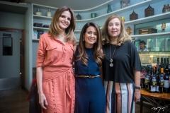 Viviane Baima, Claudiana Loureiro e Joria Araripe