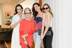 Ana Isabel Carvalho, Costanza Pascolato, Camila Coutinho E Lelê Saddi