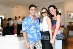 Beto Pacheco, Lelê Saddi E Camila Coutinho