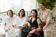 Camila Yahn, Maria Rita Alonso, Flávia Lafer E Tania Otranto