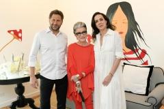 Costanza Pascolato, Ana Isabel Carvalho E Eduardo Kyrillos