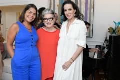 Daniela Falcão, Costanza Pascolato E Ana Isabel Carvalho Pinto