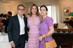 Roberto Paz, Adriana Trussardi E Carol Castelo Branco