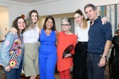 Yasmine Sterea, Bárbara Migliori, Daniela Falcão, Costanza Pascolato, Paula Merlo E Dudi Machado