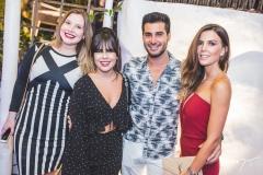 Helena Teófilo, Amanda Crisóstomo, Marcos Porto e Camila Militão