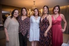 Amélia Brandão, Claudia Gradivohl, Cristina Martins, Elisa Oliveira e Cristiane Faria
