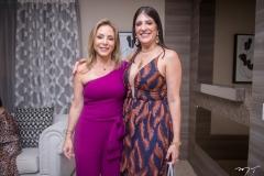 Ana Paula Daud e Elisa Oliveira