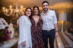 Cristina Martins, Elisa e Victor Oliveira