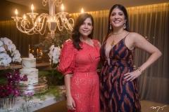 Maria Lucia Negrão e  Elisa Oliveira
