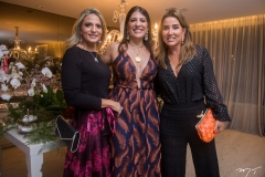 Michele Aragão, Elisa Oliveira e Ana Vladia Barreira