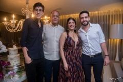 Rafael, Everardo, Elisa E Victor Oliveira