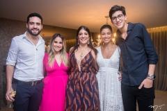Victor Oliveira, Roberta Fernandes, Elisa Oliveira, Paloma Fiuza E Rafael Oliveira