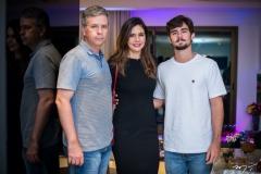 Adriano, Ana Luiz e Vitor Picanço