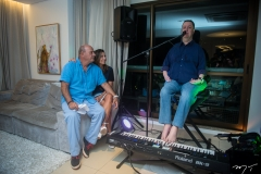 Fernando e Márcia Travessoni e David Valente