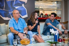Fernando, Márcia e Fernandinho Travessoni