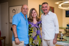 Fernando Travessoni, Natércia Rios e Artur Bruno