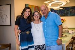 Márcia Travessoni, Consuelda Andrade e Fernando Travessoni