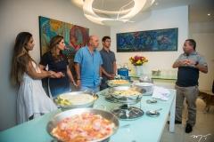 Talita, Márcia, Fernando e Fernandinho Travessoni