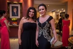 Andreia Nogueira e Cintia Delfino