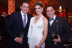 Andrade Mendonça, Rebeca Leal e Francisco Campêlo