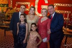 Herbert Vieira, Giulia, Gisela e Giovanna Dias Branco, Graça Dias Branco da Escóssia e Jório da Escóssia